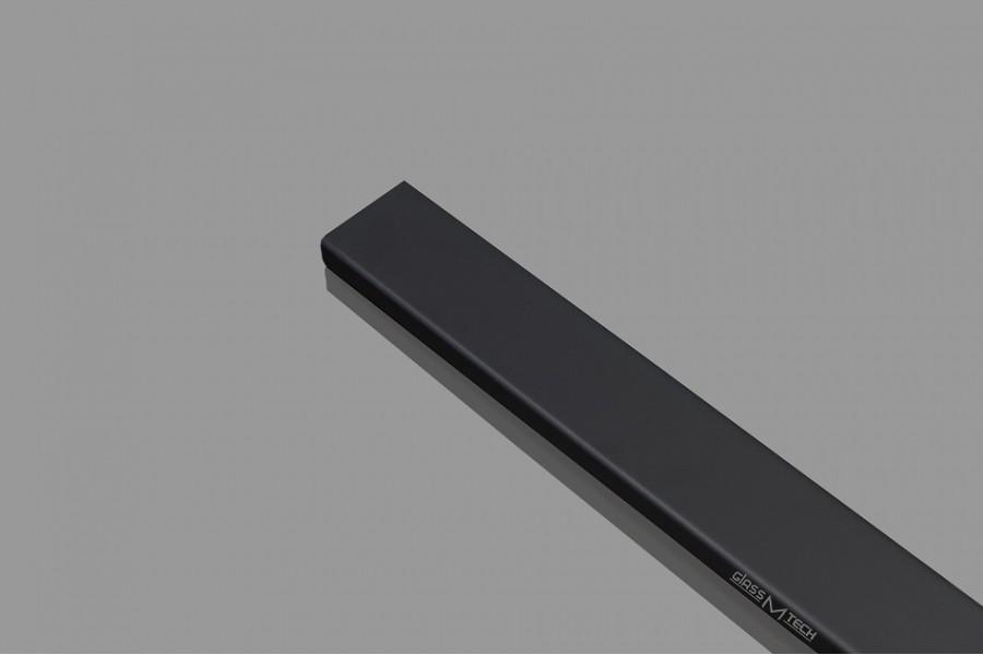 Труба профильная G593, Black