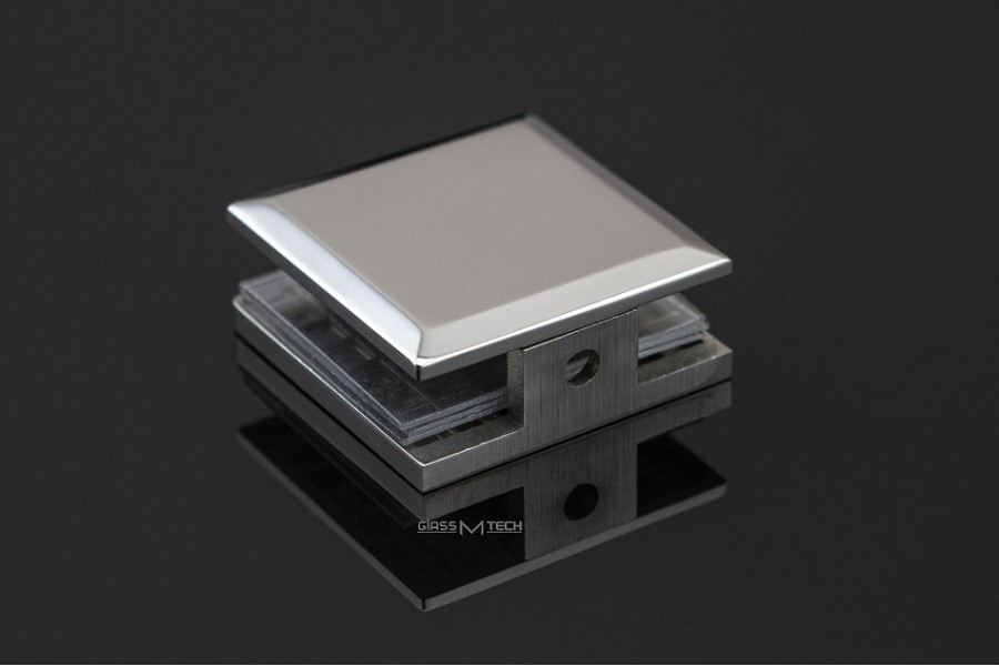 Соединитель G250s с фаской, стена/стекло, 90°