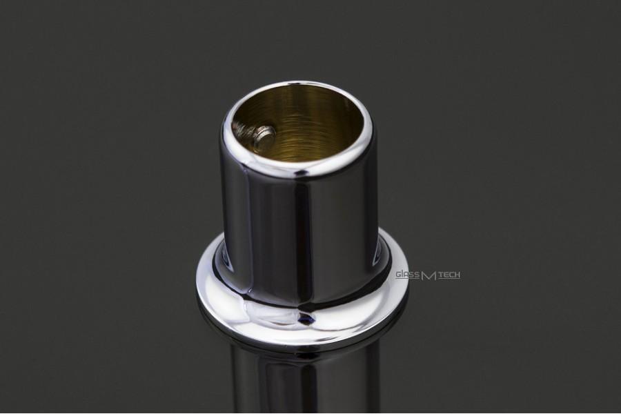 Соединитель G500B, штанга/стена, ø19 мм, 90°