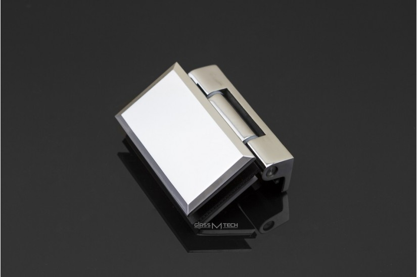 Петля ЕК-415 с фаской, без фиксации, стена/стекло