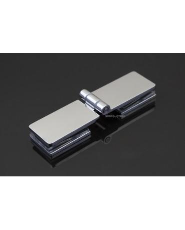 Петля ЕК-418 без фиксации, стекло/стекло