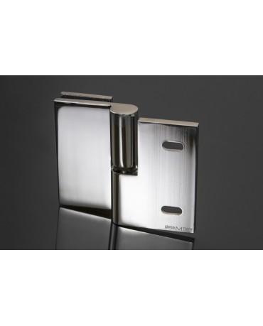Петля КН-105A/R, правая, стена/стекло, с подъемным механизмом, 90°