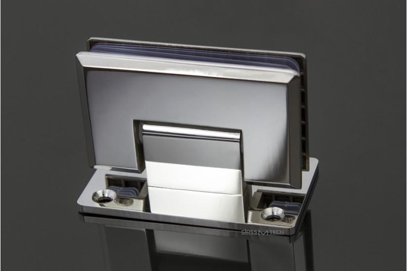 Петля  G110A с фаской, стена/стекло, 90°
