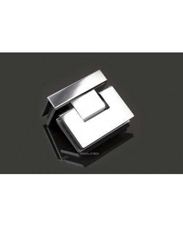 Петля G113А без фаски, стекло/стекло, 90°