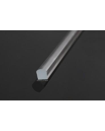Водозащитный акриловый порожек G1010A, 10х10 мм