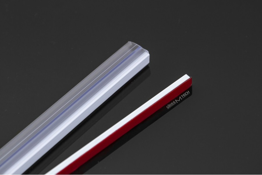 Уплотнитель G715, стена/стекло + магнит (самоклейка)